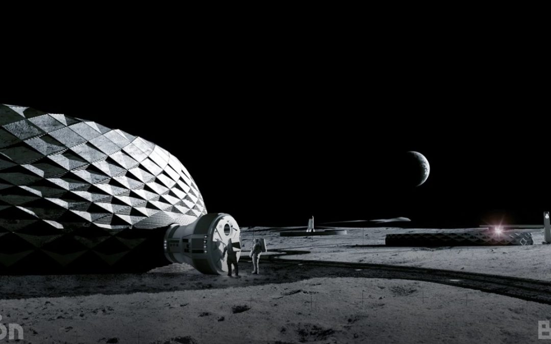 BIG Shoots for the Moon with 3D-printed lunar Habitat Plan
