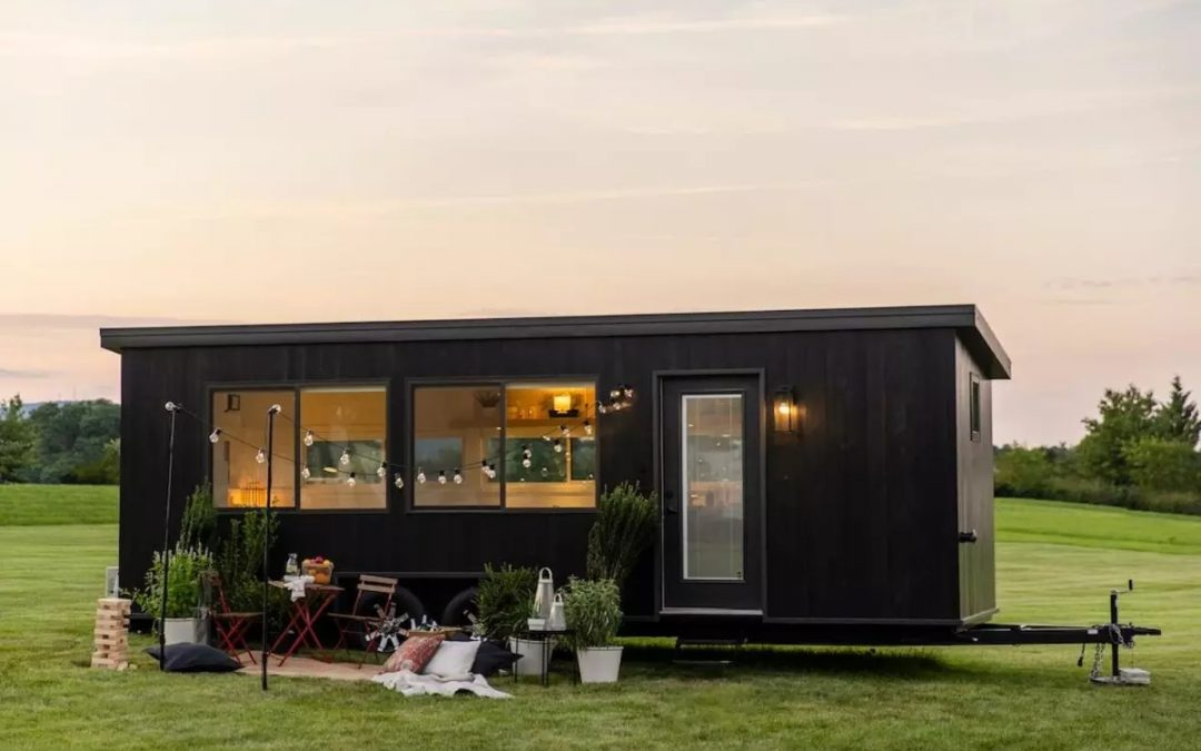 IKEA Collaborates with Escape to Design Custom Off-grid Tiny House