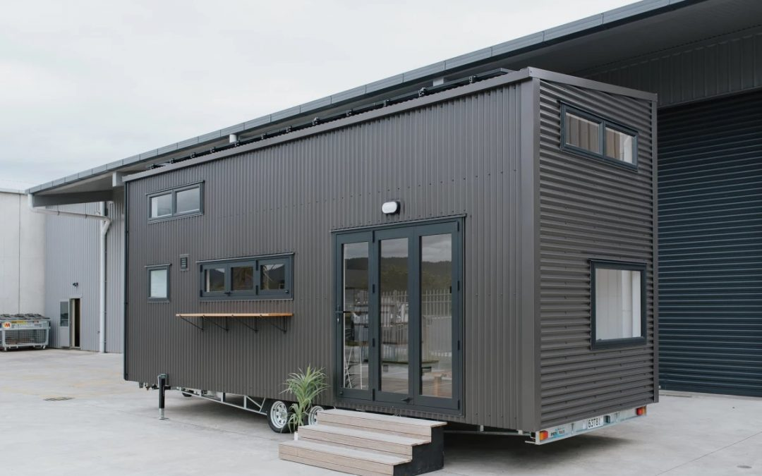 Ciril Tiny House: Feline-friendly Tiny House Lets Owners Live and Work Off the Grid