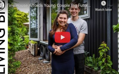 Tiny House Affords Young Couple Big Future Dream
