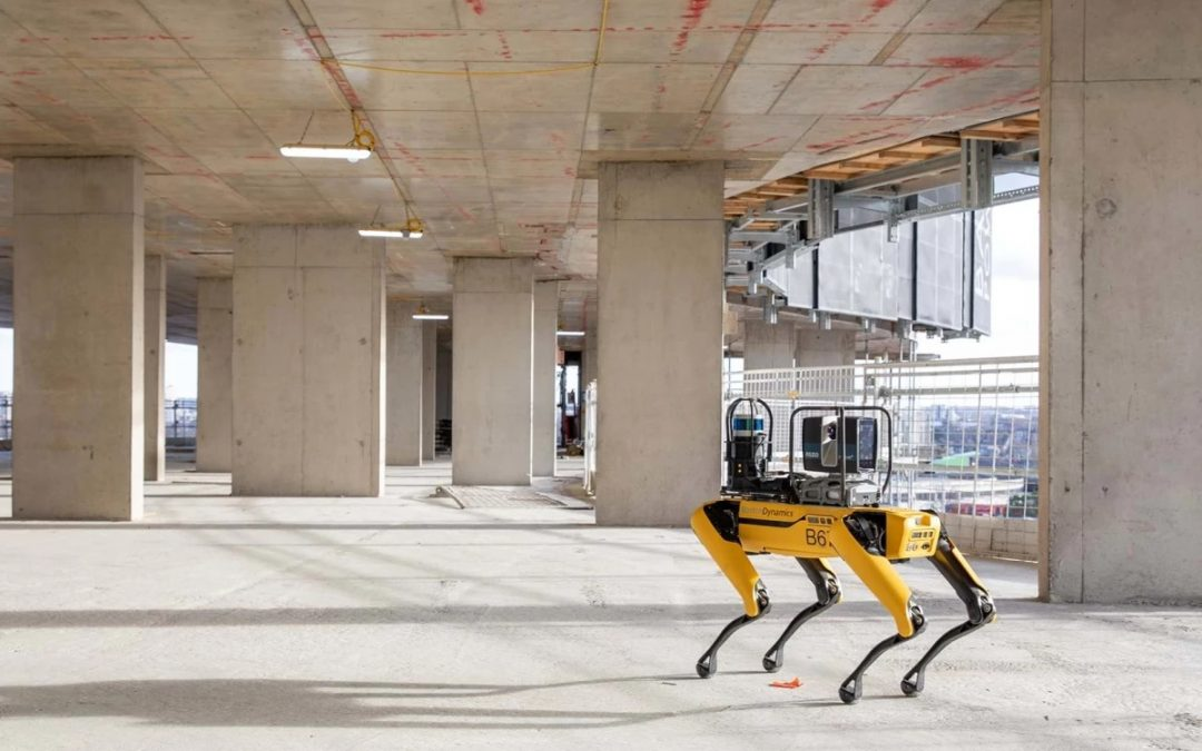 Boston Dynamics' Spot: Spot the Robot Dog Adopts Role as Construction Site Inspector