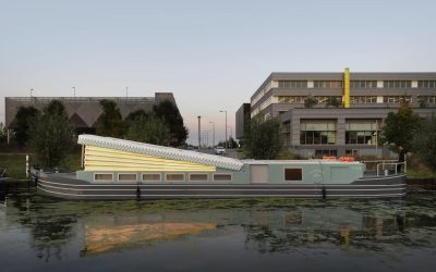London's Floating Church: Floating Church Pops Its Top in a London Canal