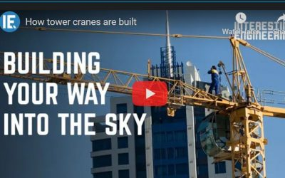 How Tower Cranes are Built
