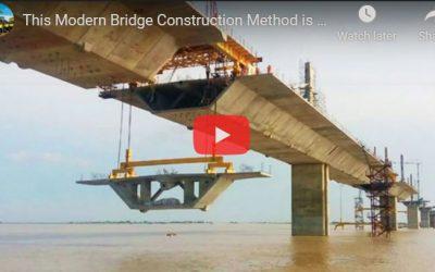 Amazing Bridge Construction Equipment Machine