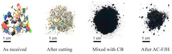 Waste-to-graphene Method: Flash Graphene Rocks Strategy for Plastic Wast