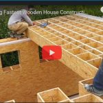 Amazing Fastest Wooden House Construction Method - Modern House Construction Technology