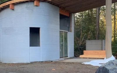 Canads's Fibonacci House: A Test case of 3D Construction Printing