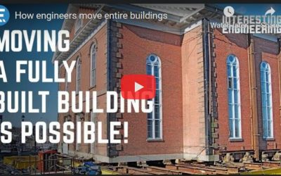 How Engineers Move Entire Building