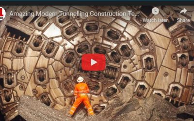 Amazing Modern Tunnelling Construction Technology with Incredible Construction Machines