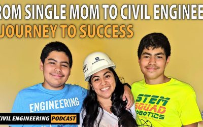 PODCAST – From Single Mom to Civil Engineer: A Journey to Success