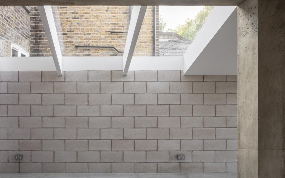 London's Minimal House: East London House Extension is a Study in Raw Concrete