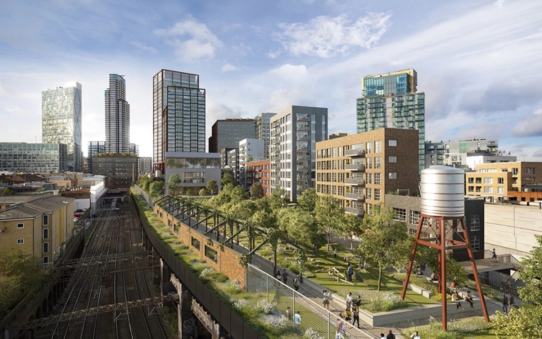 London gets Taste of the High Life with New Elevated Park