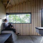 Shedding Light on 3D- printed, Upcycled Ashen Cabin
