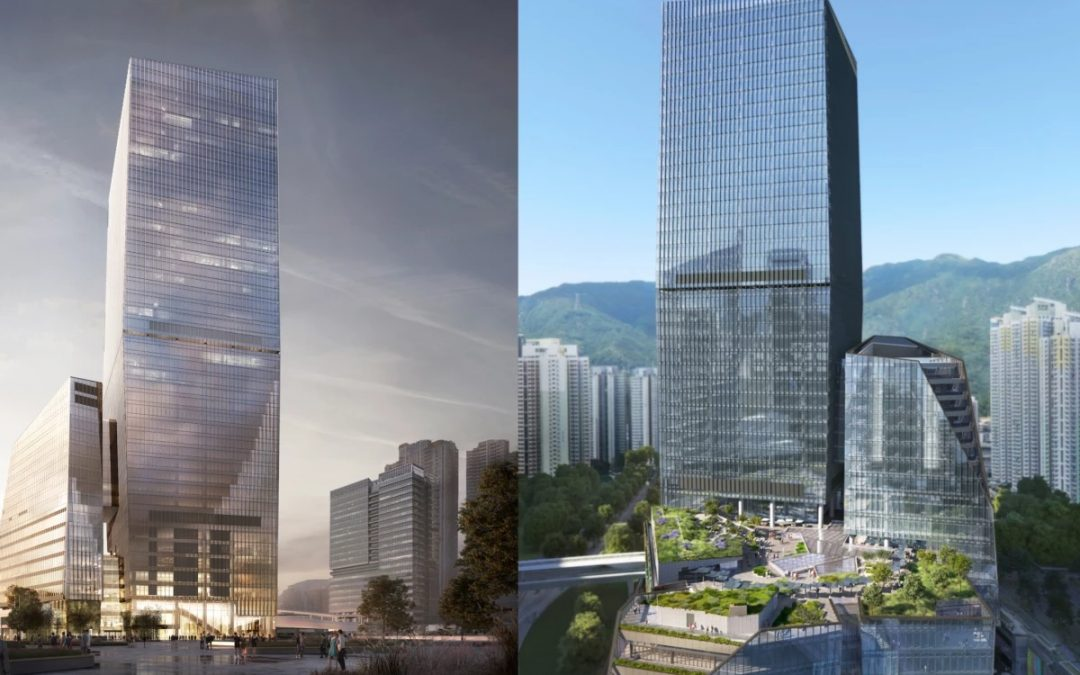 Snøhetta's Airside skyscraper: Sustainable skyscraper Adds a Little Greenery to Hong Kong