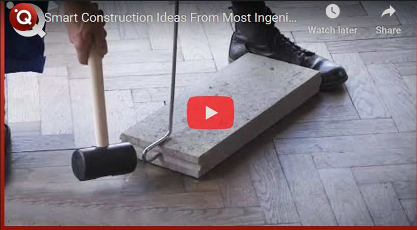 Smart Construction Ideas From Most Ingenious Workers