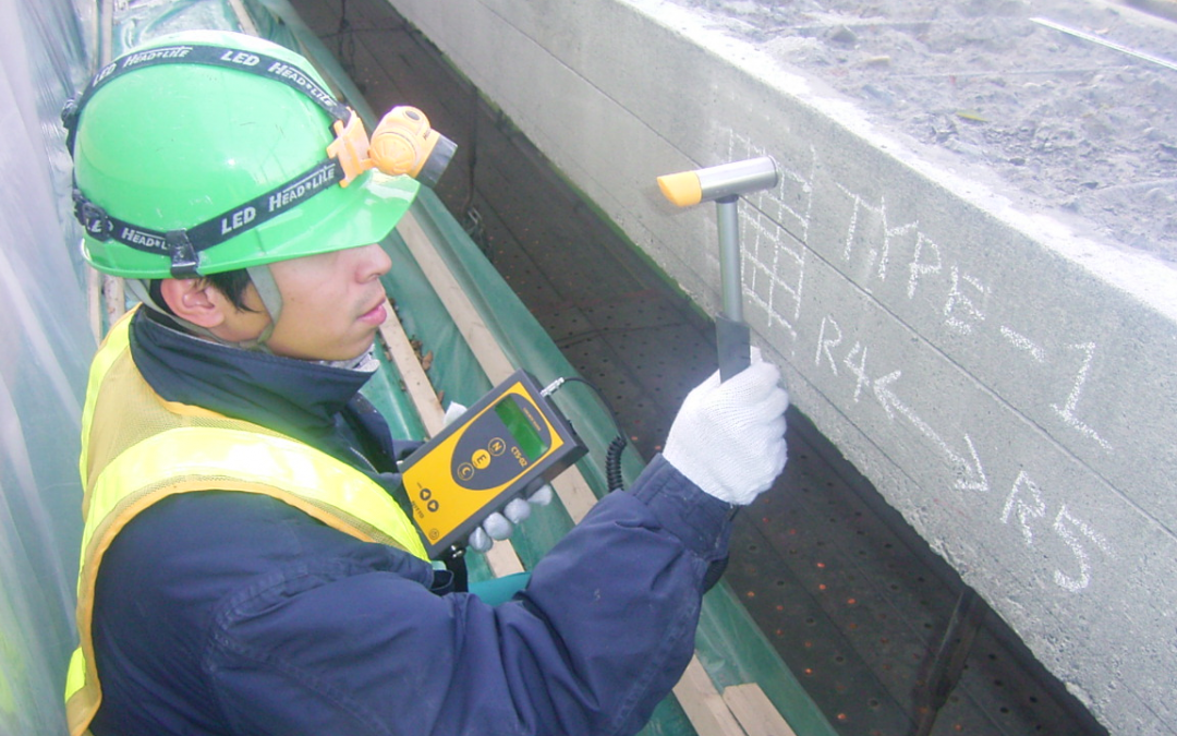 A Study on Estimating Concrete Compressive Strength by Mechanical Impedance