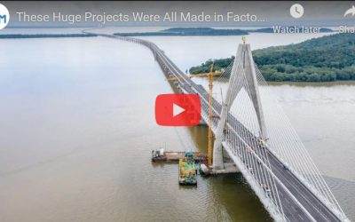 Prefabrication: These Huge Projects Were All Made in Factories