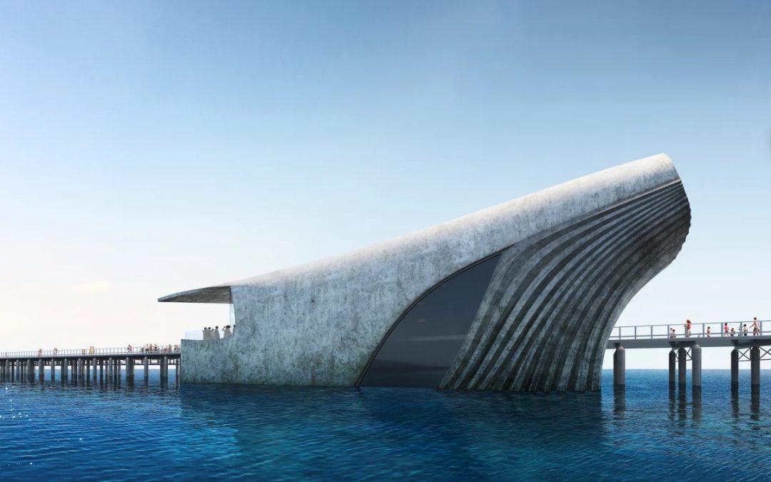 Whale-shaped Marine Observatory Reveals Life Below the Waves