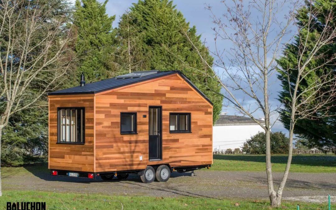 20-ft Tiny House Sleeps Two, Three with a Squeeze