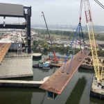 New Jersey's First Orthotropic Bridge Shipped in Five Pieces Through the Panama Canal