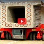 Amazing Modern Fastest Bridge Construction Method
