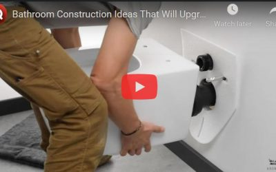 Bathroom Construction Ideas that will Upgrade Your Home