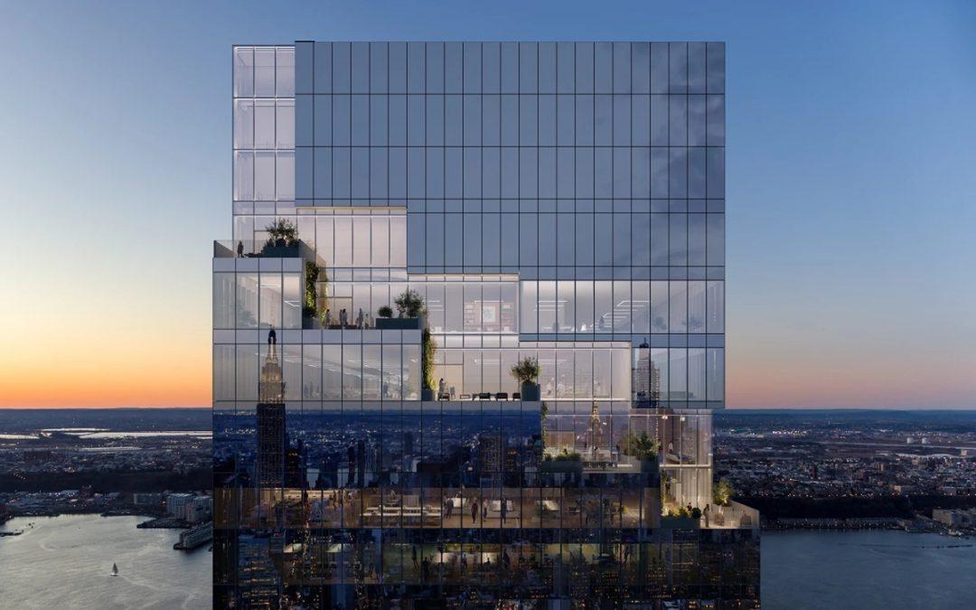 BIG's Stepped Skyscraper Creates Green Terraces in the Sky