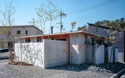 "Concrete Walls Create ""Maze-Like"" Feel Inside House in Minoh-shinmachi By FujiwaraMuro Architects"