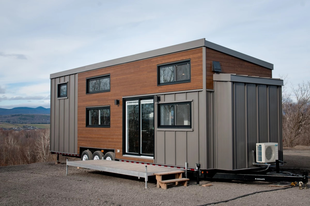 Second Time's the Charme with Hardy Eight-person Tiny House - GCO Portal