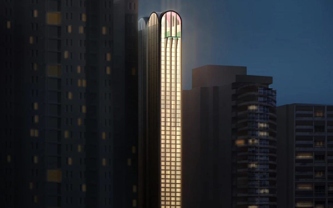 """Ultra-thin """"Sky Scratcher"""" Makes Other Skinny Skyscrapers Look Chunky"""