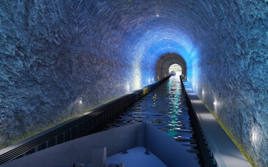 ساخت اولین تونل کشتی در نروژ