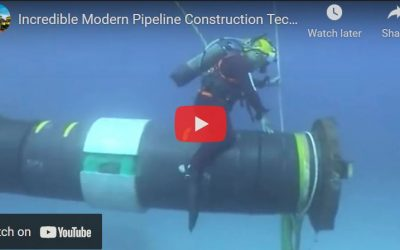 Ingenious Extreme Subsea Pipe Installation Skill