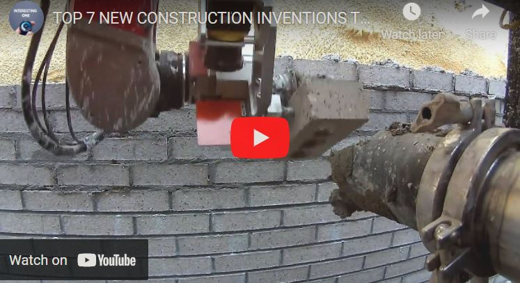 Top 7 New Construction Inventions