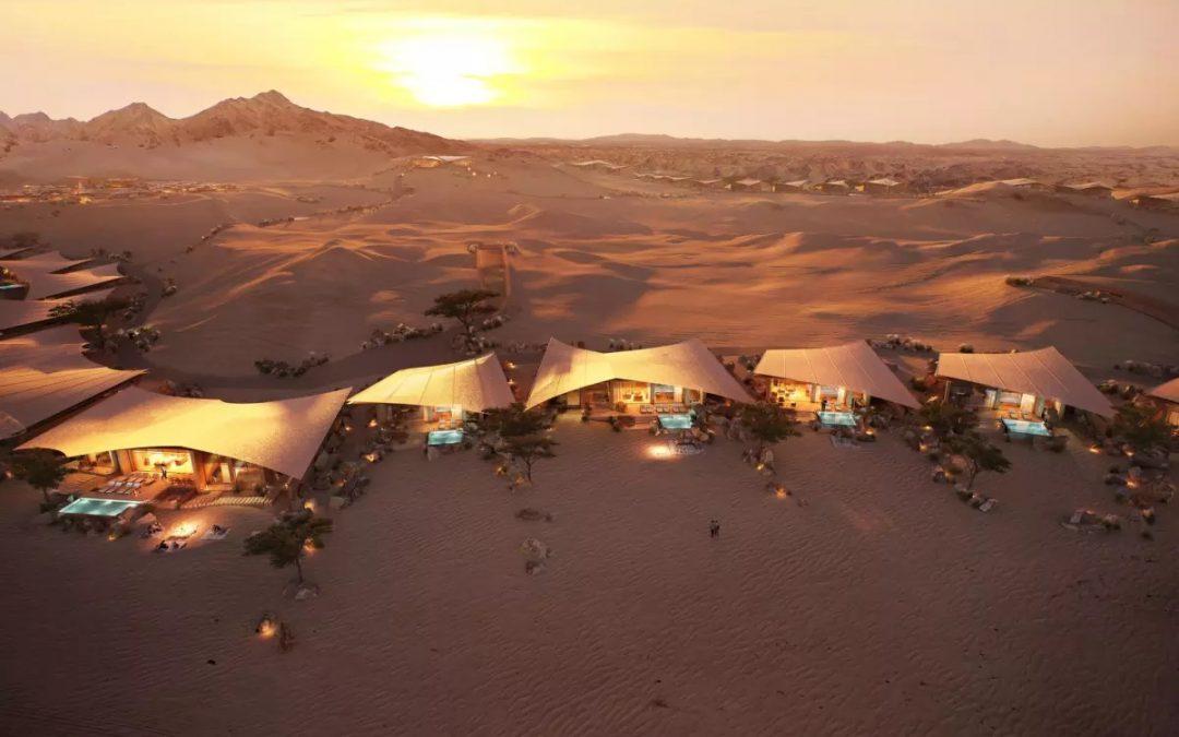 افزایش ساخت ویلاهای لوکس در پروژه ای کویری در عربستان
