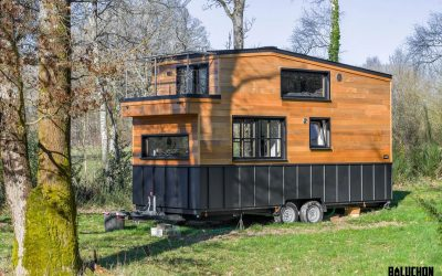 Tiny House Bits the Right Note with Built-in Music Studio