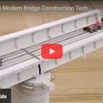 VIDEO - Bridge Construction Technology - Biggest Crane Heavy Equipment Machines Working