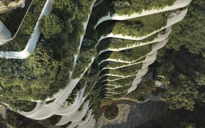 New Butterfly Residential Tower in Singapore