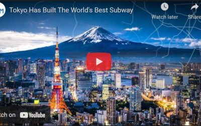 The World's Best Subway is Built in Tokyo