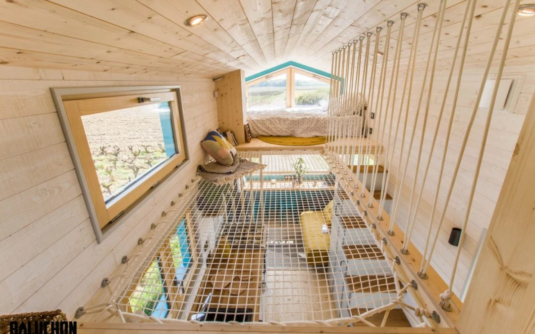 This Compact House Serves As a Full Time Home
