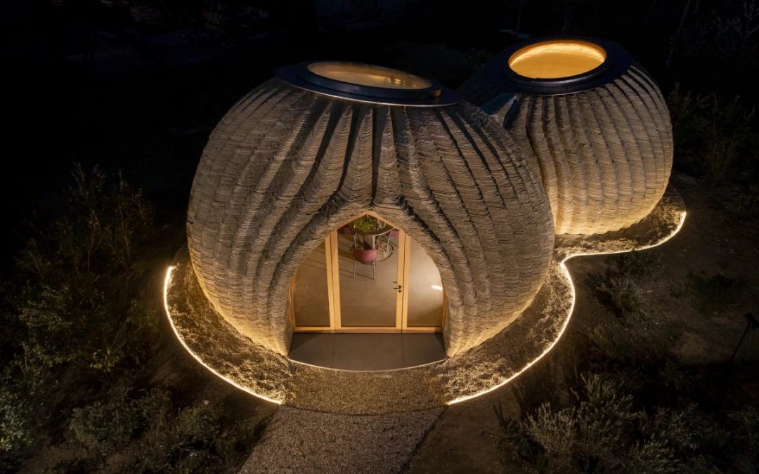 First Eco-sustainable Housing Model Printed By Raw Eadrth Materials