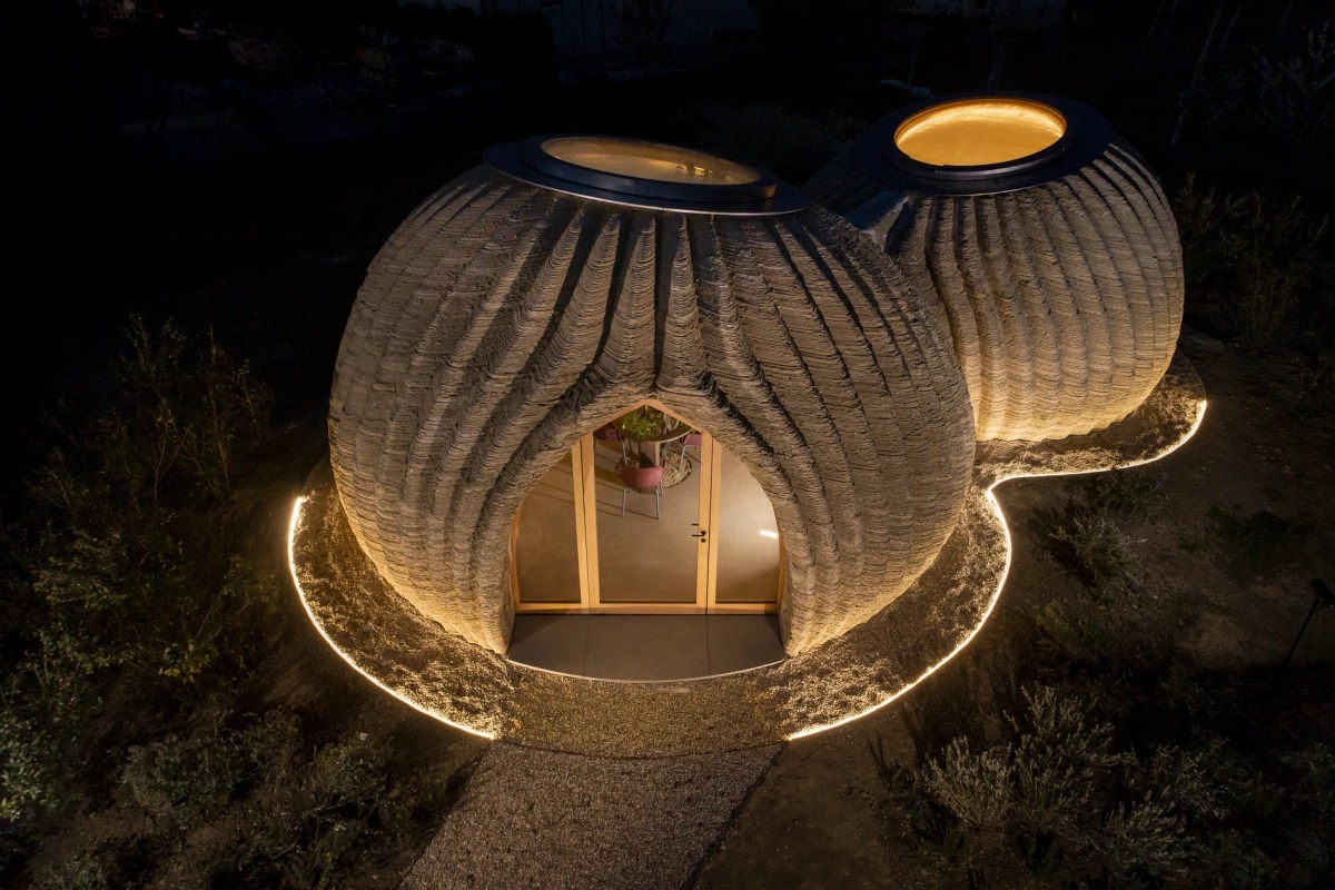 First Eco-sustainable Housing Model Printed By Raw Eadrth Materials - GCO Portal