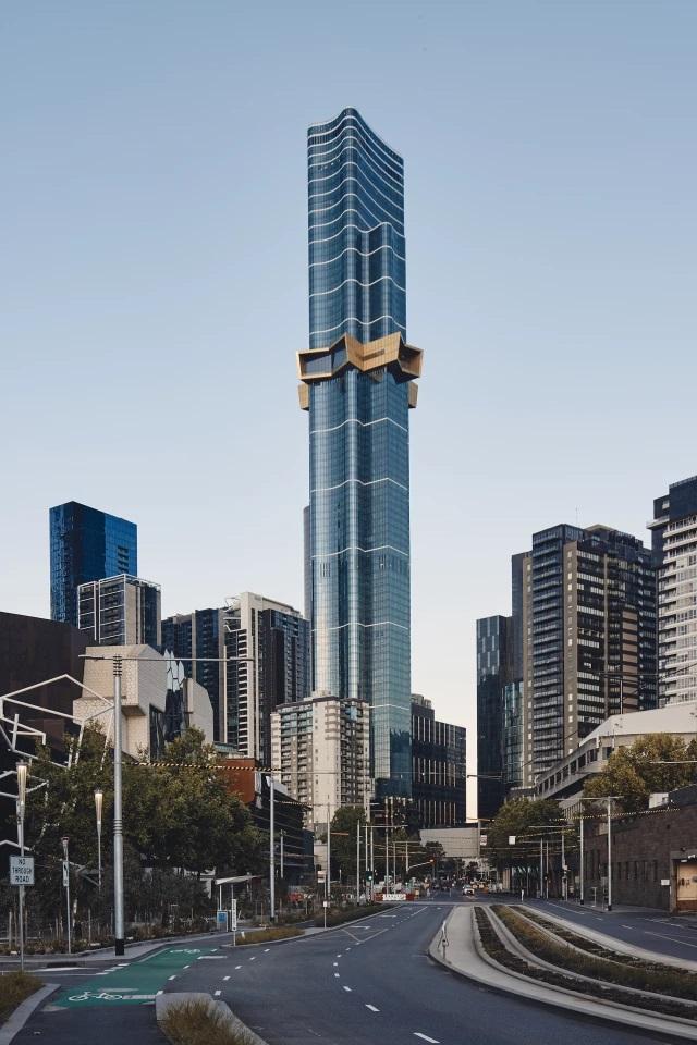 Melbourne's Supertall Skyscraper Completed - GCO Portal