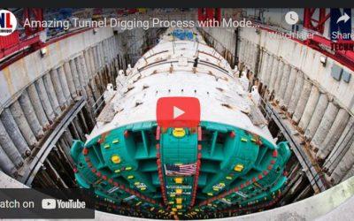Amazing Tunnel Digging Process