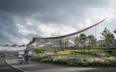 Energy efficient travel center in Västerås, Sweden