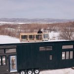 Luxury Tiny House Offers Home Comforts Inside and a Deck Up Top