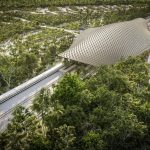 Glass-reinforced Concrete Panels Create Unique Roof