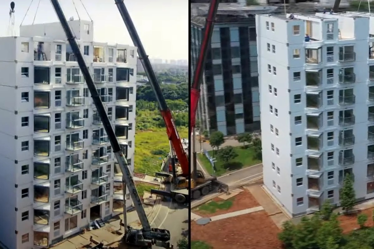 10-story High-Rise Built in a Day - GCO Portal