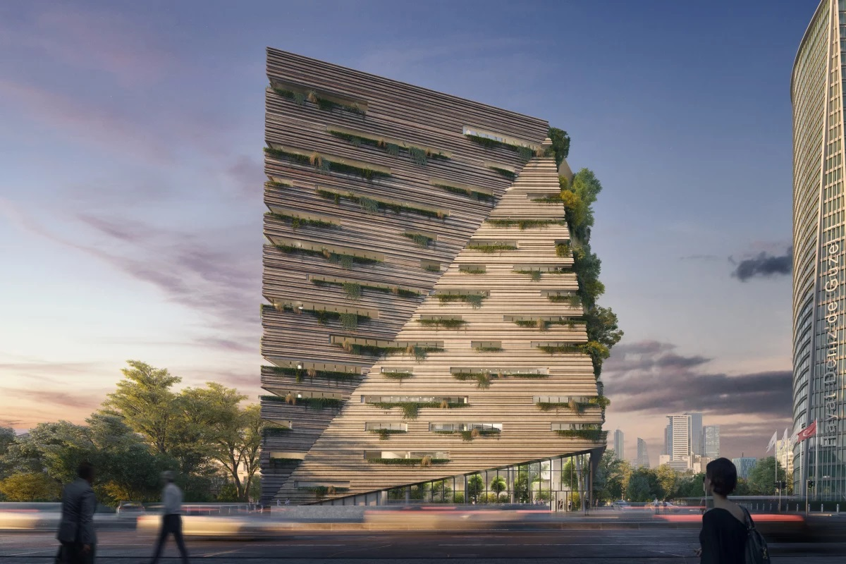 RMJM Turns Office Workers into Cave Dwellers with Istanbul High-rise - GCO Portal