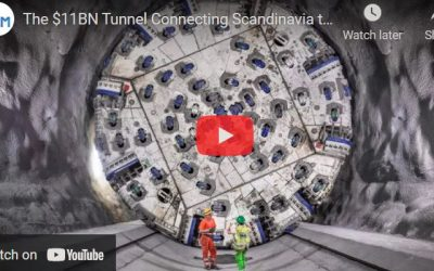 Tunnel Connecting Scandinavia to the Mediterranean