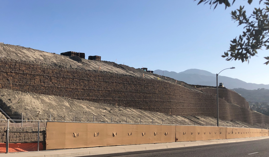 Retaining Wall Maximizes Buildable Square Footage in Calif.